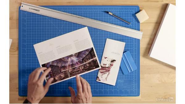 Making a brochure mockup: Making 2D Presentation Materials and Mockups