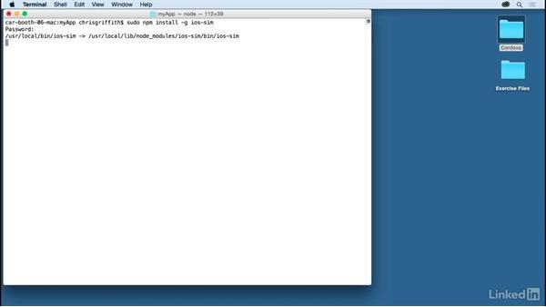 Build for iOS: Learn Apache Cordova: The Basics