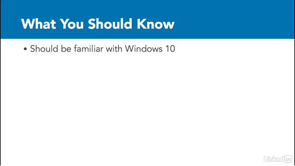 What you should know before starting: Securing Windows 10