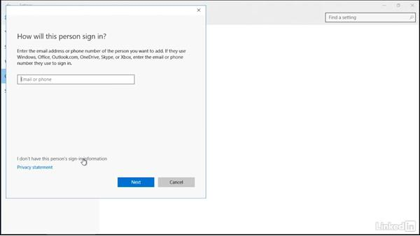 Working with local accounts in Windows 10: Securing Windows 10