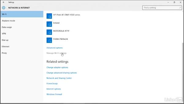 Sharing Wi-Fi connections using Wi-Fi Sense: Securing Windows 10