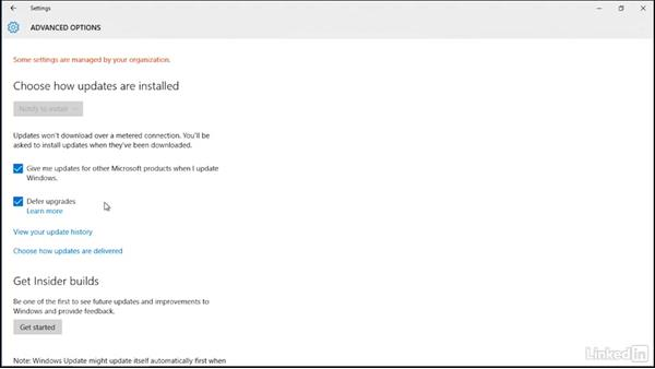 Controlling updates for Windows 10: Securing Windows 10