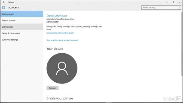 Welcome: Windows 10: Manage Identity