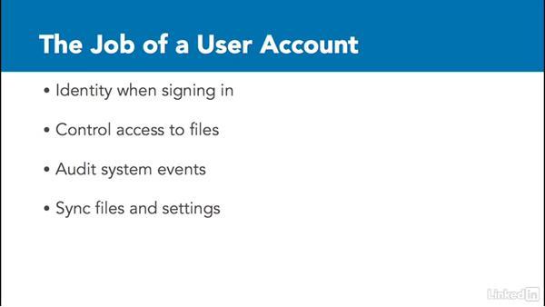 Understanding accounts: Windows 10: Manage Identity