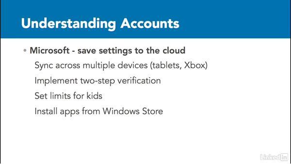 Local, Domain, and Microsoft accounts: Windows 10: Manage Identity
