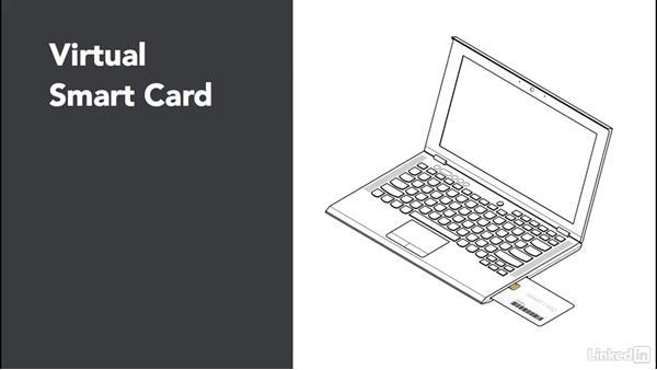 Use a virtual smart card: Windows 10: Manage Identity