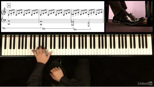 F Section: m. 29-end: Piano Lessons with Hugh Sung: 3 Sight Reading and Classical Pieces