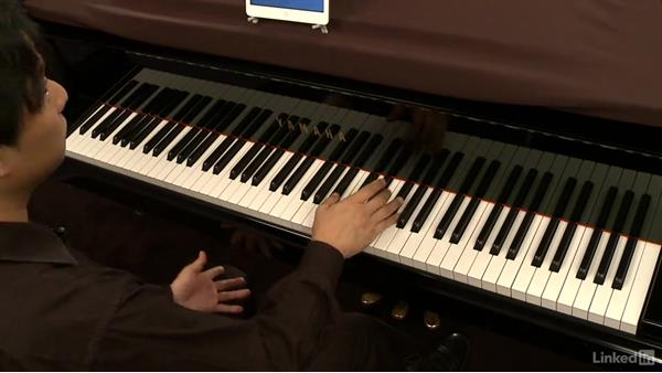 B Section: m. 7-10: Piano Lessons with Hugh Sung: 2 Playing Songs