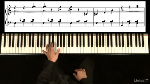 A Section: m. 8-12: Piano Lessons with Hugh Sung: 2 Playing Songs