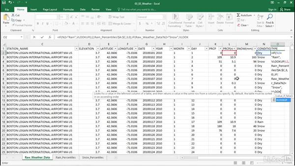 Join data with VLOOKUP: Excel Workshop: Working with Real-Time Data