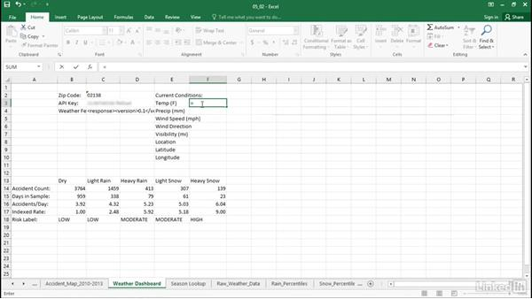 Extract components with FILTERXML: Excel Workshop: Working with Real-Time Data
