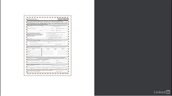 Prepare the scanned template: Access 2016: Forms and Reports in Depth