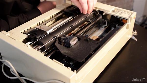 Maintaining impact printers: CompTIA A+ Exam Prep (220-901) Part 4: Displays and Printers