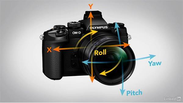 In-camera stabilization options: Mirrorless Camera Fundamentals