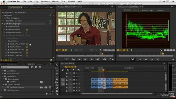 Enhancing the shots: DSLR Video Tips: Lighting