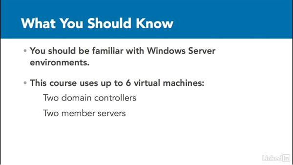 What you should know before watching this course: Windows Server 2012 R2: Configure File Services