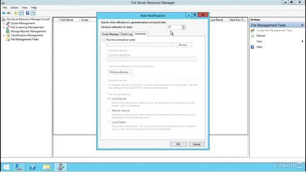 Configure file management tasks: Windows Server 2012 R2: Configure File Services