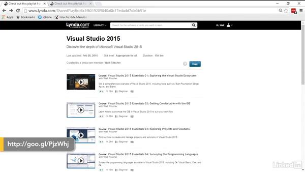 What you should know before watching: Visual Studio 2015 Essentials 09: Unit Tests