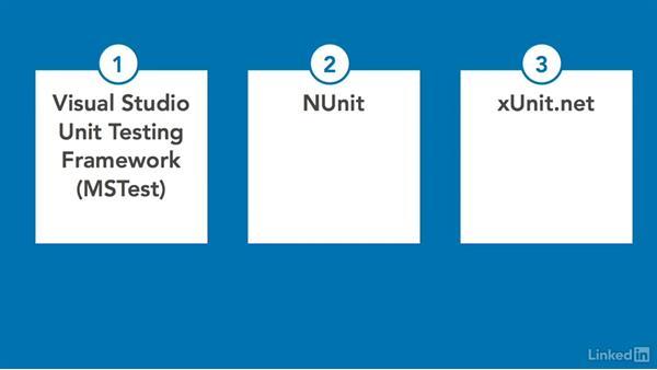Choose a unit testing framework