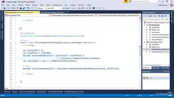 Discover untested code with Code Coverage: Visual Studio 2015 Essentials 09: Unit Tests