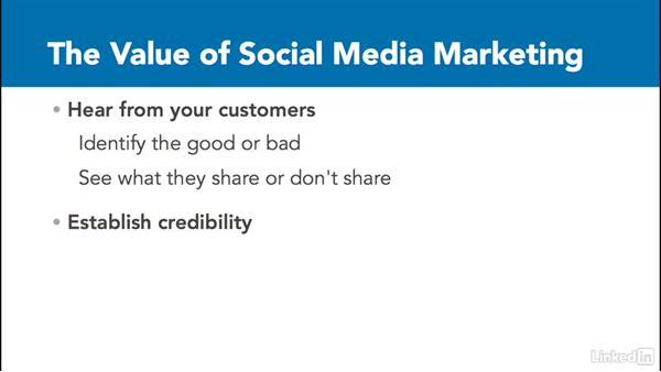 Understanding the value of social media marketing: Social Media Marketing with Facebook and Twitter