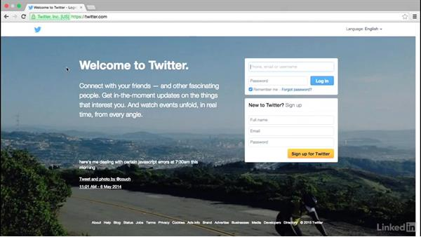 The big picture of Twitter: Social Media Marketing with Facebook and Twitter