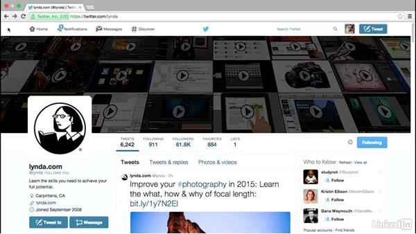 Create a brand presence: Social Media Marketing with Facebook and Twitter