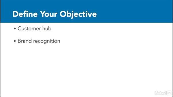 Define your objective: Social Media Marketing with Facebook and Twitter