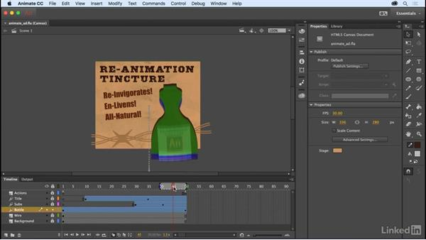 Customizable onion skinning: Adobe Animate CC: New Features