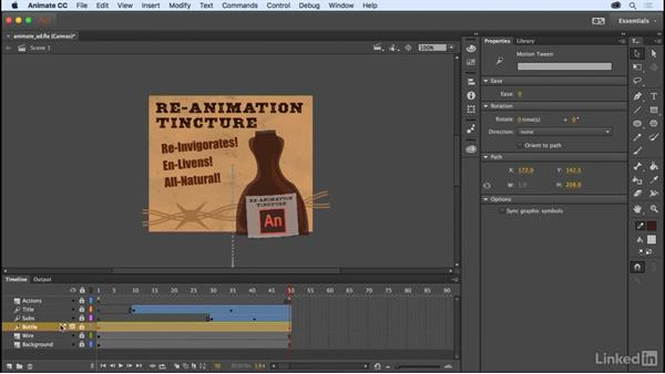 Layer and stage transparency: Adobe Animate CC: New Features