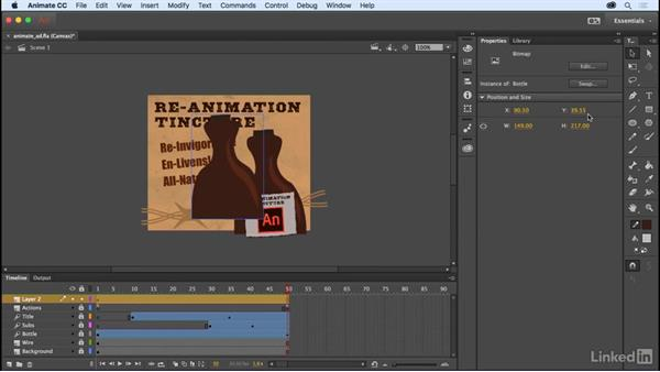 Snap bitmaps to pixels: Adobe Animate CC: New Features