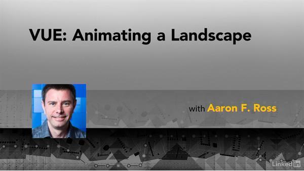 Next steps: VUE: Animating a Landscape