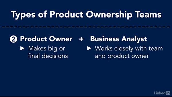 Concept of product ownership as a team: Agile Product Owner Role