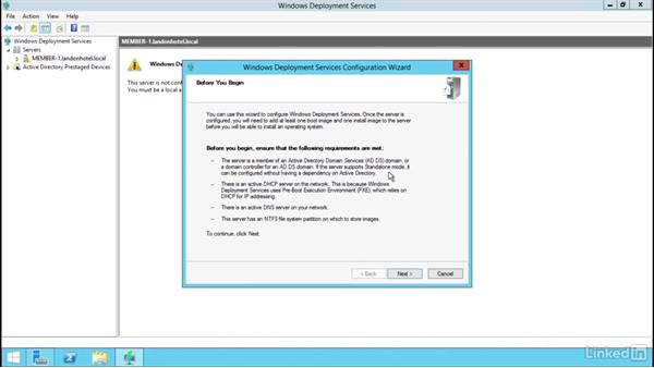 Install and configure WDS