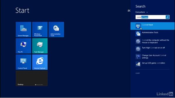 take a screenshot on windows server 2012