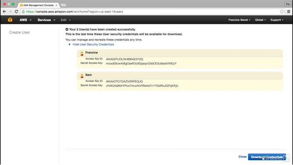 Set up AWS accounts: Amazon Web Services for Data Science