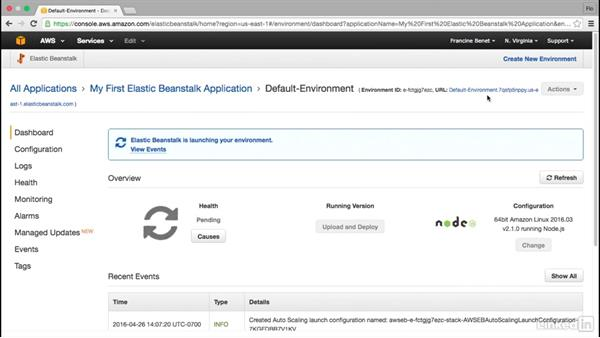 Use Elastic Beanstalk for website hosting: Amazon Web Services for Data Science