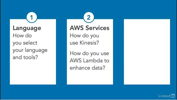 AWS data processing pipeline: Select language & tools & set up a development environment: Amazon Web Services for Data Science