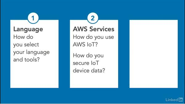 AWS IoT project: Select language & tools & set up a development environment: Amazon Web Services for Data Science