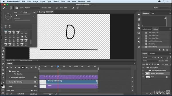 Animating with video layers: Motion Graphics Loops 01: Photoshop Techniques
