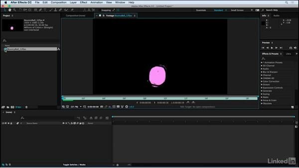 Exporting for After Effects: Motion Graphics Loops 01: Photoshop Techniques