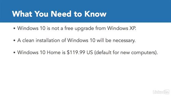 What you need to know: Migrating from Windows XP to Windows 10