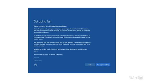 Step through the upgrade process: Migrating from Windows XP to Windows 10