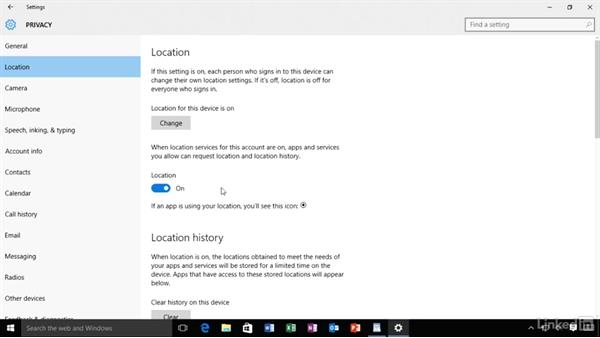 Customize privacy settings: Migrating from Windows XP to Windows 10