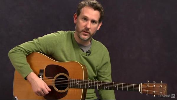 Walking bass: Part 2: Acoustic Guitar Lessons with Bryan Sutton: 2 Scales, Walking Bass, Hammer-Ons, and Pull-Offs