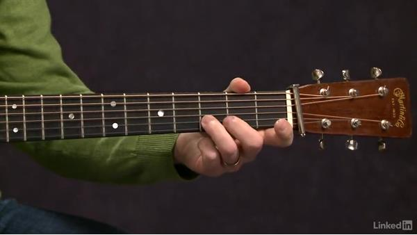 Hammer-ons: Exercise 1: Acoustic Guitar Lessons with Bryan Sutton: 2 Scales, Walking Bass, Hammer-Ons, and Pull-Offs