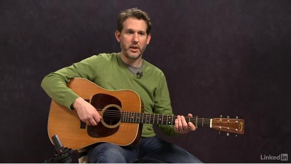 """""""Red Haired Boy"""" (basic): Melody, part 2: Acoustic Guitar Lessons with Bryan Sutton: 2 Scales, Walking Bass, Hammer-Ons, and Pull-Offs"""