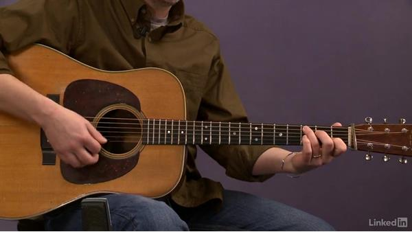 """""""Shady Grove"""" (basic): Melody: Acoustic Guitar Lessons with Bryan Sutton: 2 Scales, Walking Bass, Hammer-Ons, and Pull-Offs"""