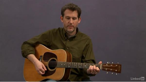 """Shady Grove"" (basic): Rhythm: Acoustic Guitar Lessons with Bryan Sutton: 2 Scales, Walking Bass, Hammer-Ons, and Pull-Offs"
