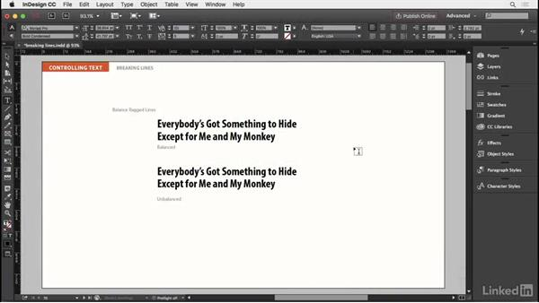 Welcome: InDesign Typography Part 2